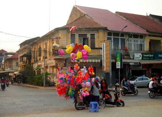 Battambang Cambodia, where to stay.