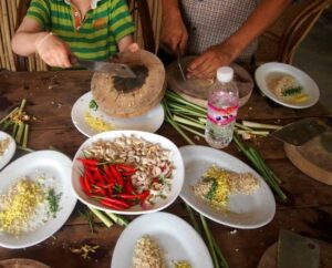 Khmer cooking course in Battambang Cambodia