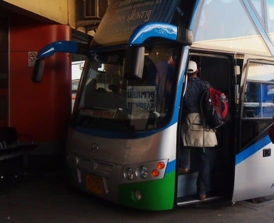 Getting to Cambodia from Thailand. Bangkok to Siem Reap bus.