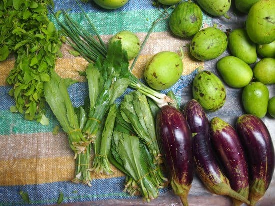 what vegetables do they eat in cambodia