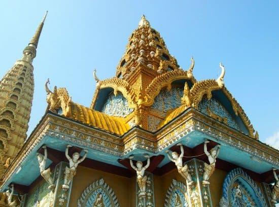 Ancient temple battambang cambodia