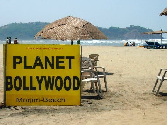 Morjim Beach North Goa