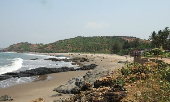 Vagator Beach North Goa.