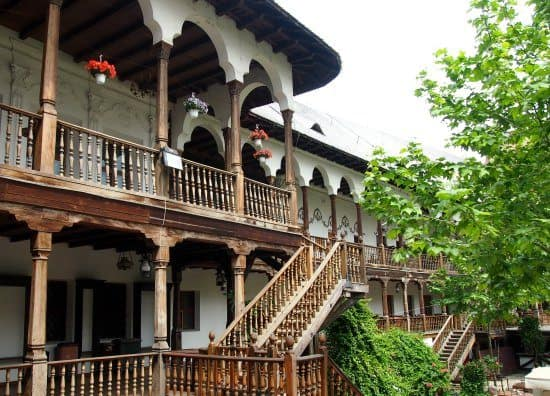 Old City. Bucharest. Travelling to Bucharest