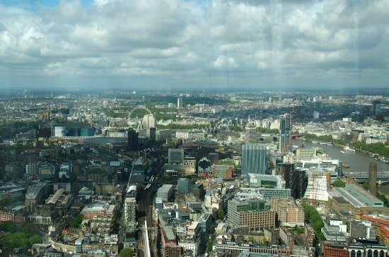 The London Eye from The Shard