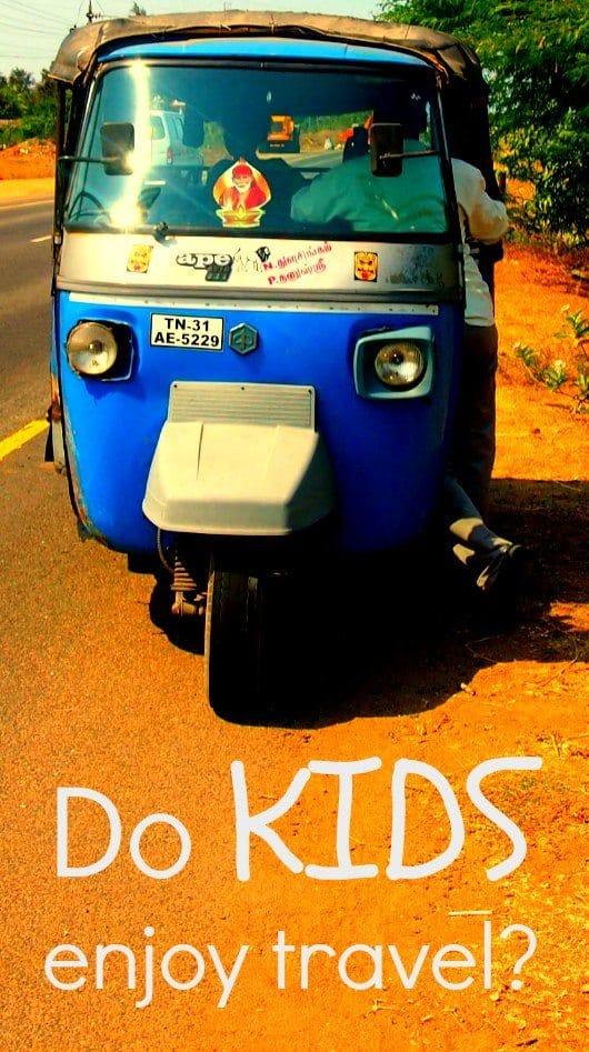 Do kids enjoy travel? travelling children give the reasons they enjoy travel