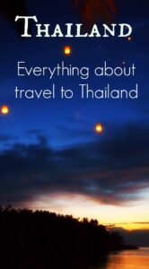 Thailand Travel. A complete guide to travel in Thailand from family travel blog World Travel Family