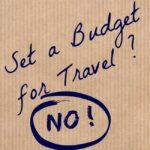 set a budget for travel