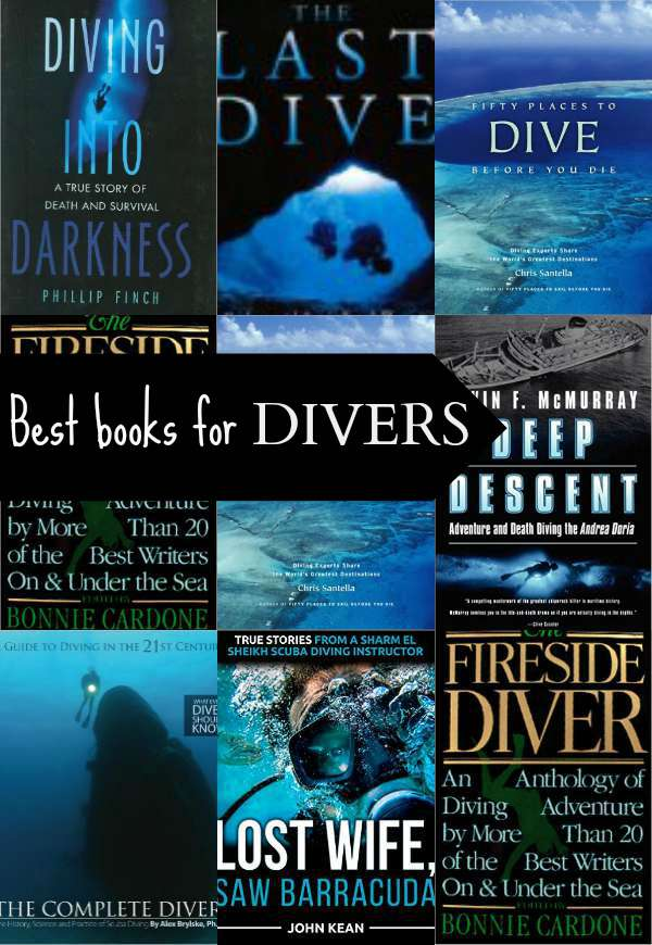Best Scuba Diving Books and books on Scuba Diving