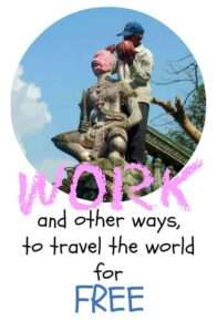 ways to travel for free. Work and other ways to travel the world for free.