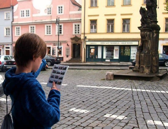 Touring Prague with children. We took a self guided Prague for kids city tour to discover the hidden treasures of Prague.