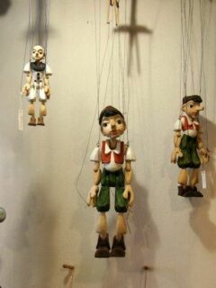 puppets in Prague