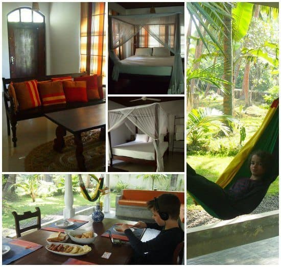 Family Villa, west coast Sri Lanka