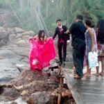 To the Bride Who Got Soaked in Unawatuna, Sri Lanka.