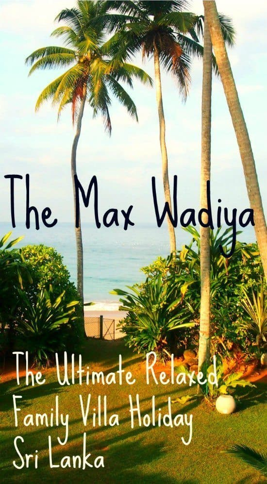 The Max Wadiya Family Villa Holiday Sri Lanka