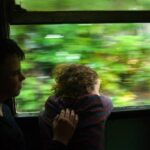 The train from Sri Lanka Bandaranaike airport to the beaches