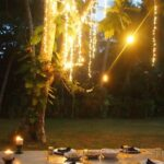 Dinner at The Templeberg Villa Galle SriLanka