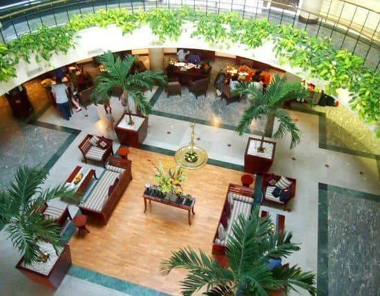 Eden Resort and Spa reception
