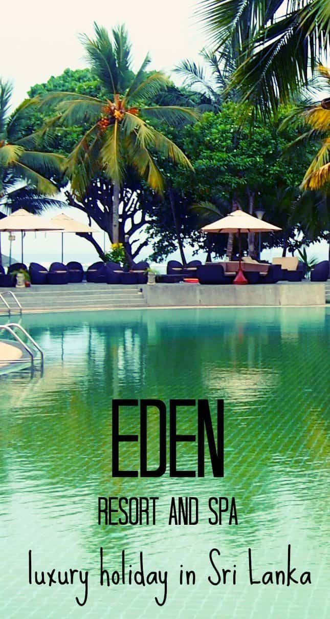 Eden Resort and Spa. Luxury Holiday in Sri Lanka