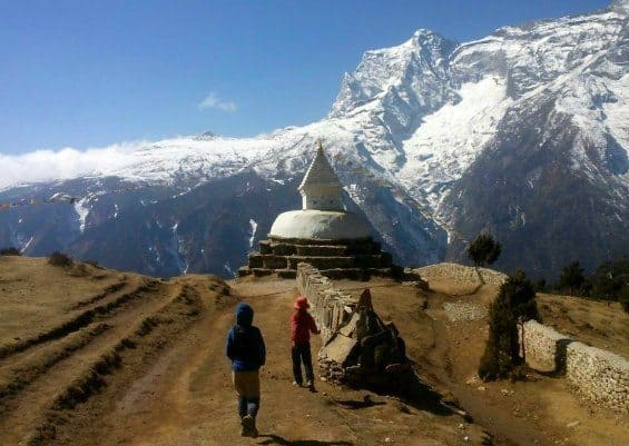Everest region trek kids