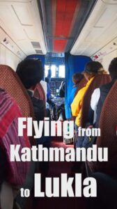 Flying from Kathmandu to Lukla tips