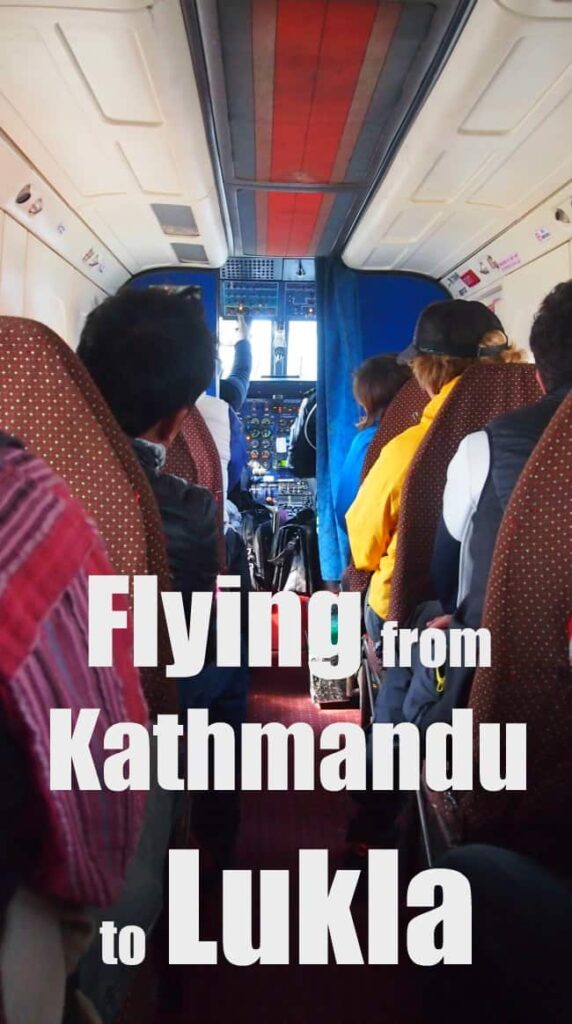 Flying from Kathmandu to Lukla tips