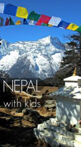 Nepal with Kids. Nepal is a stunning country, a dream destination, rich in culture and holding immense natural beauty. But is it a good place to take kids? We try it out. 1 month in Nepal, including Trekking in the everest region, for families and kids. Family travel with World Travel Family.