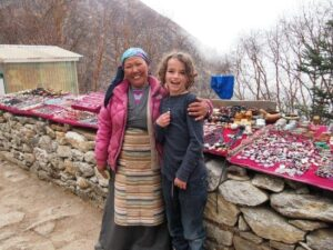 Nepal with kids, trekking with kids. Fabulous cultural encounters with the Sherpa people of the Everest region.