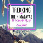 Trekking in the Himalayas info