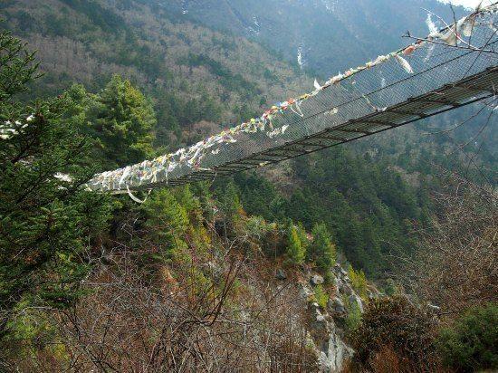 Scary Bridges Everest Trek