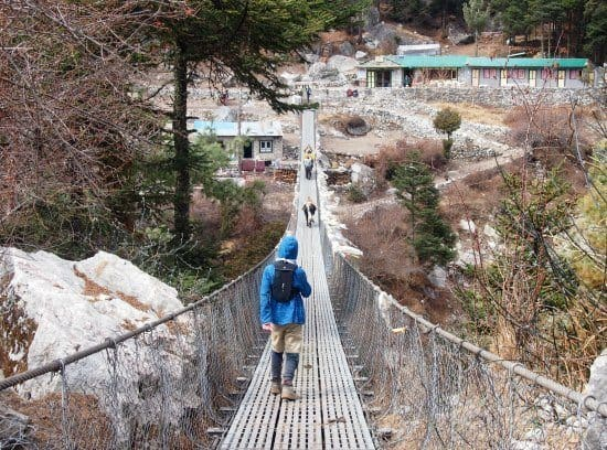 Scary Bridges Everest Trek