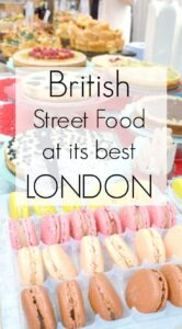 British Street Food at it's best. Lets take a look at some of the amazing British street food on offer t London's food fairs and marjkets, starting with brilliant, multicultural Greenwich