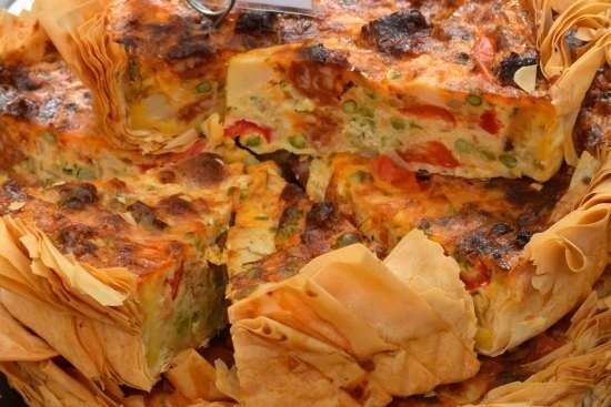 -Greenwich Market Food Stalls Quiche