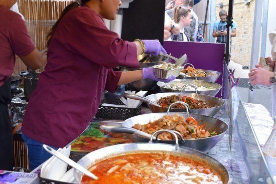 -Greenwich Market Food Stalls Thai