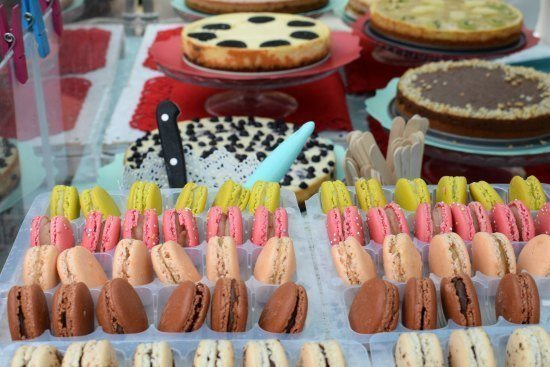 Greenwich Market Food Stalls cakes