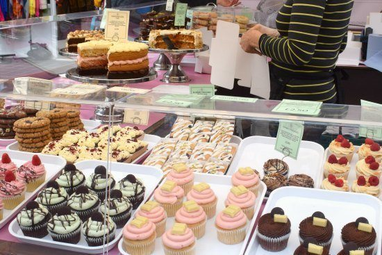 -Greenwich Market Food Stalls vegan food cakes