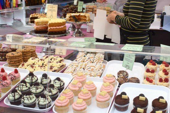 -Greenwich Market Food Stalls vegan food cakes