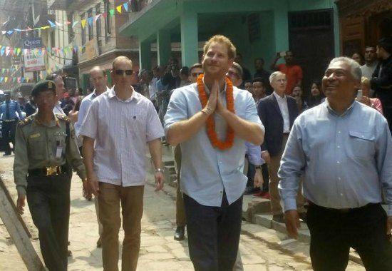 Prince Harry Nepal