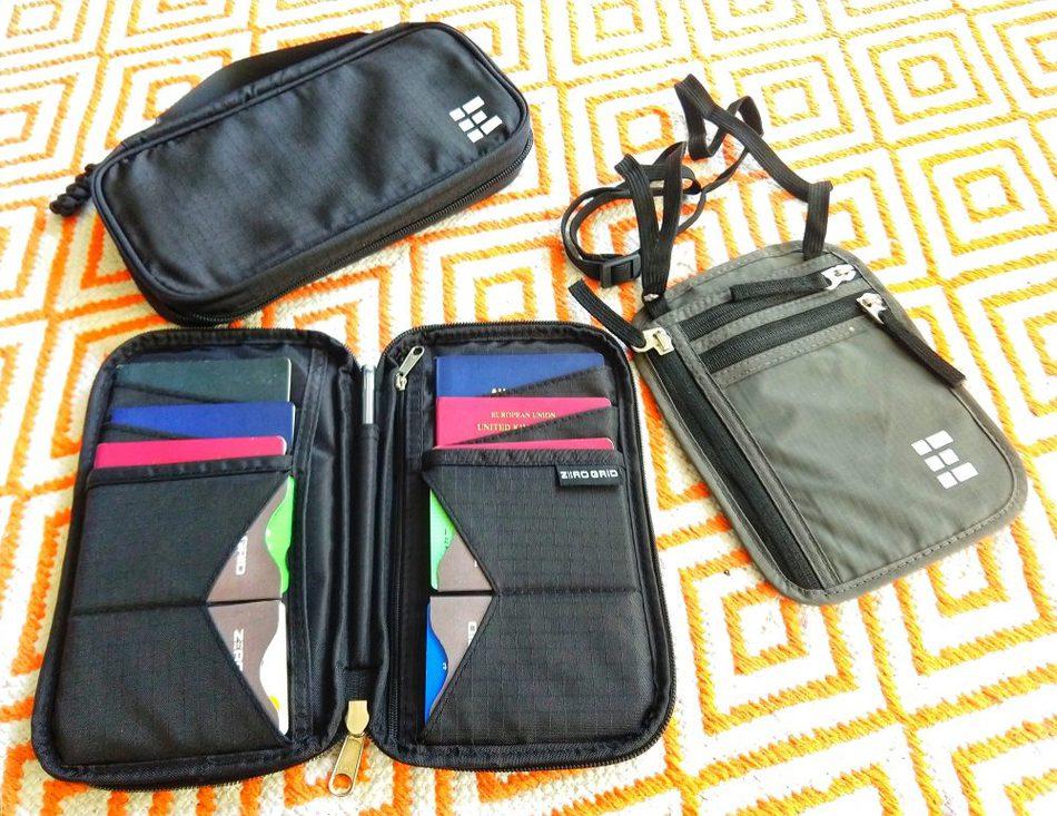 The family wallet passport holder 4 6 passports RFID blocking