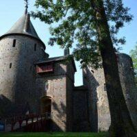 Castell Coch Wales. The Fairy Tale Castle