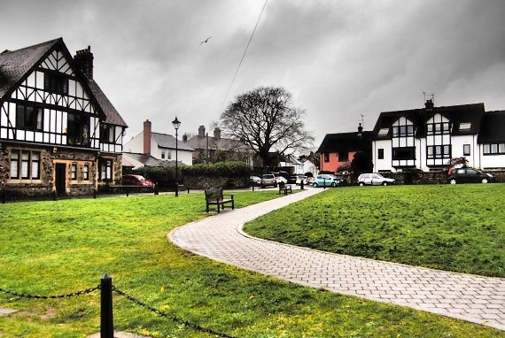 Leadworth Village Llandaff Cardiff Wales travel blog