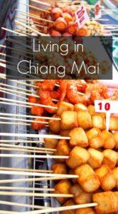 Living in Chiang Mai Thai Street Food