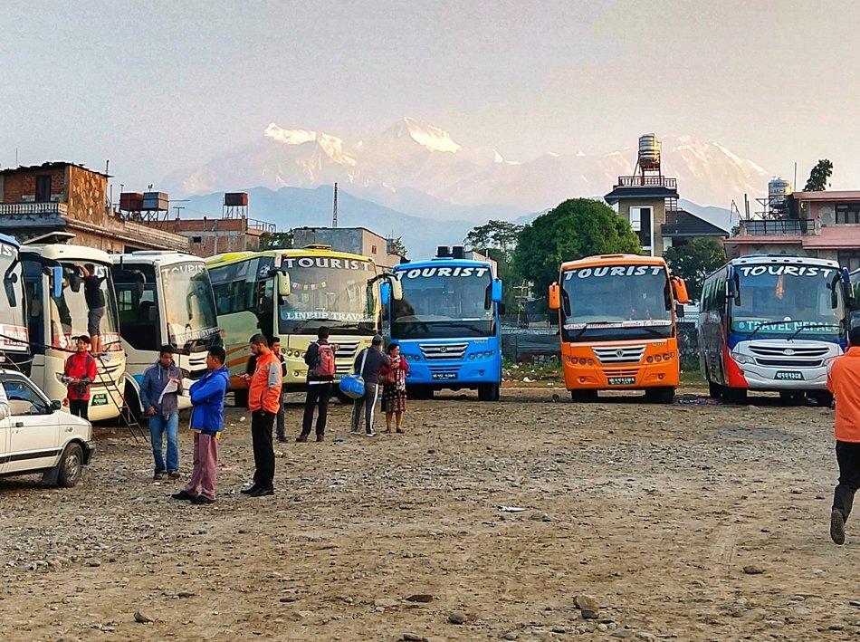 Buses in Nepal Nepal Travel Blog Getting Around Nepal