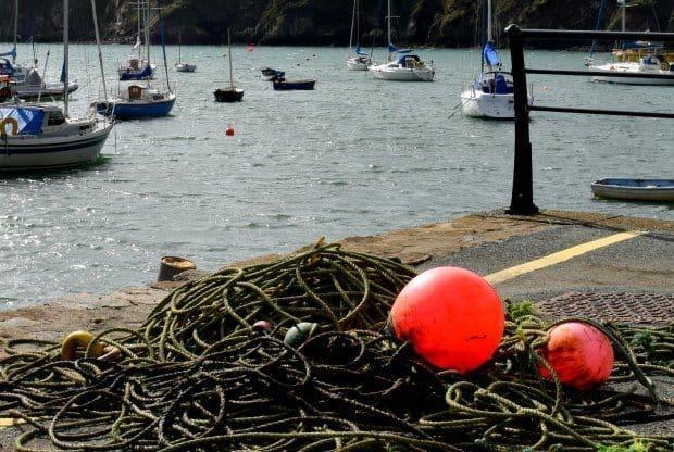 Solva Pembrokeshire Wales, the harbour