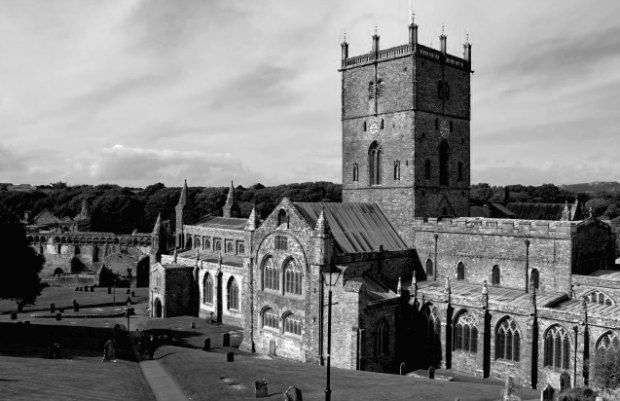 Pembrokeshire Wales St David's Cathedral