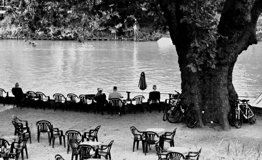 Tide Tables Cafe on the Thames at Richmond