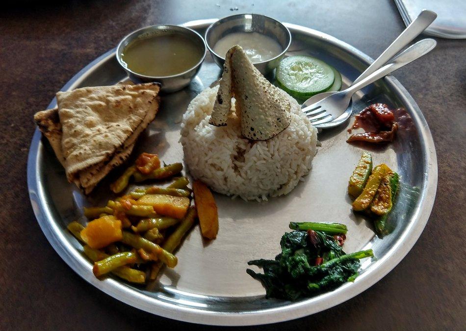 food in nepal travel blog