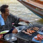 Amphawa, Thailand the seafood floating market