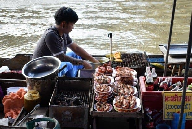 Amphawa market Thailand
