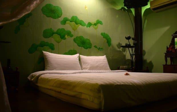 bed family room bangkokbike hotel